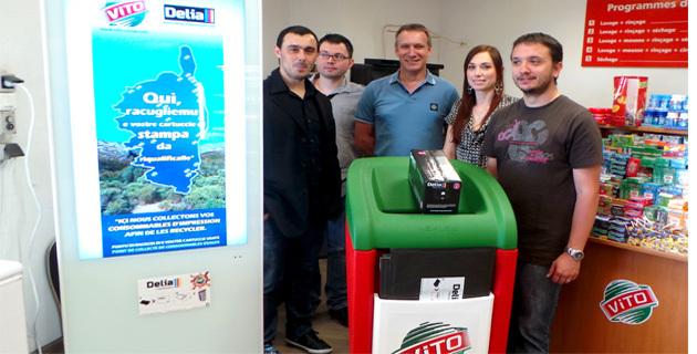 Delia-Vito : Un partenariat pour collecter les consommables d'impression
