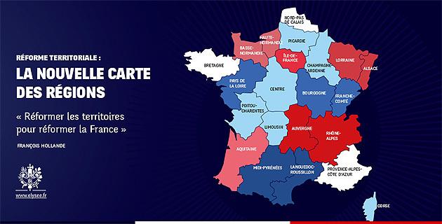 """François Hollande : """"Réformer les territoires pour réformer la France"""""""