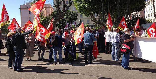 Ajaccio : Les retraités de Corse sont descendus dans la rue