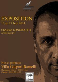 Sisco : Christian Longinotti expose à la Villa Gaspari-Ramelli