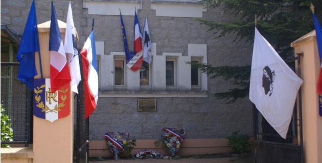 Lévie honore Jean-Paul Pandolfi, 16 ans, tué en septembre 1943