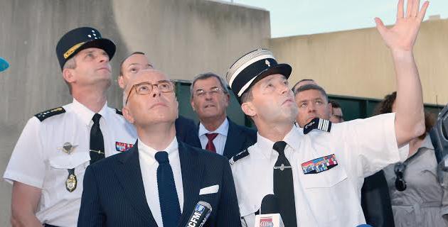 La caserne de la gendarmerie de Montesoro mitraillée