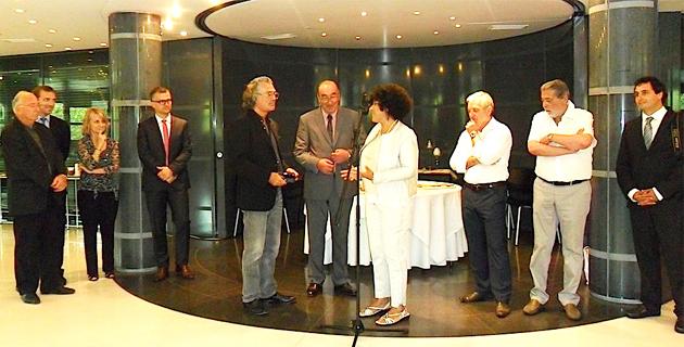 Bastia : Giò di Busca expose à l'Hôtel du Département