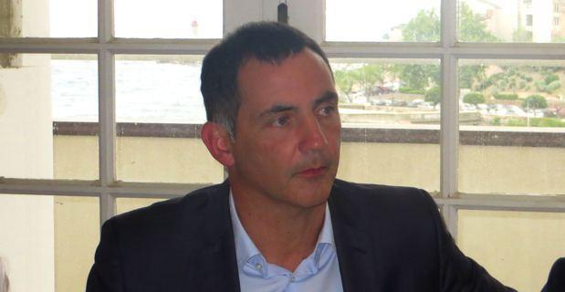 Gilles Simeoni, maire de Bastia et vice-président en charge de la politique sportive de la CAB.