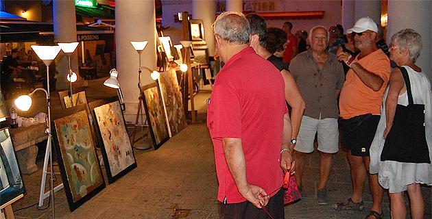 L'Ile-Rousse : Les Nocturnes de l'Art font le plein de spectateurs !