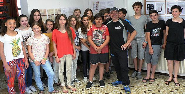 """""""1914-2014 : contre l'oubli et pour l'honneur"""", le travail de mémoire du site bilingue exposé au Collège Pascal-Paoli"""