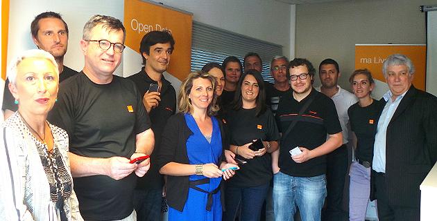 Bastia : L'innov'Tour d'Orange sur fond de fibre et de 4G