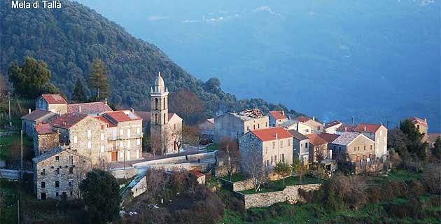 Da Tallà a Auddè : Campanili di l'Alta Rocca