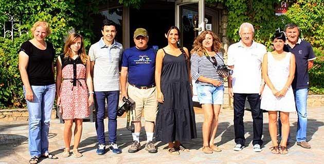 Journalistes espagnols sous le charme de Calvi et la Balagne