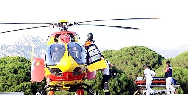 Au port de Calvi le plongeur se fait broyer le pied par l'hélice d'un bateau