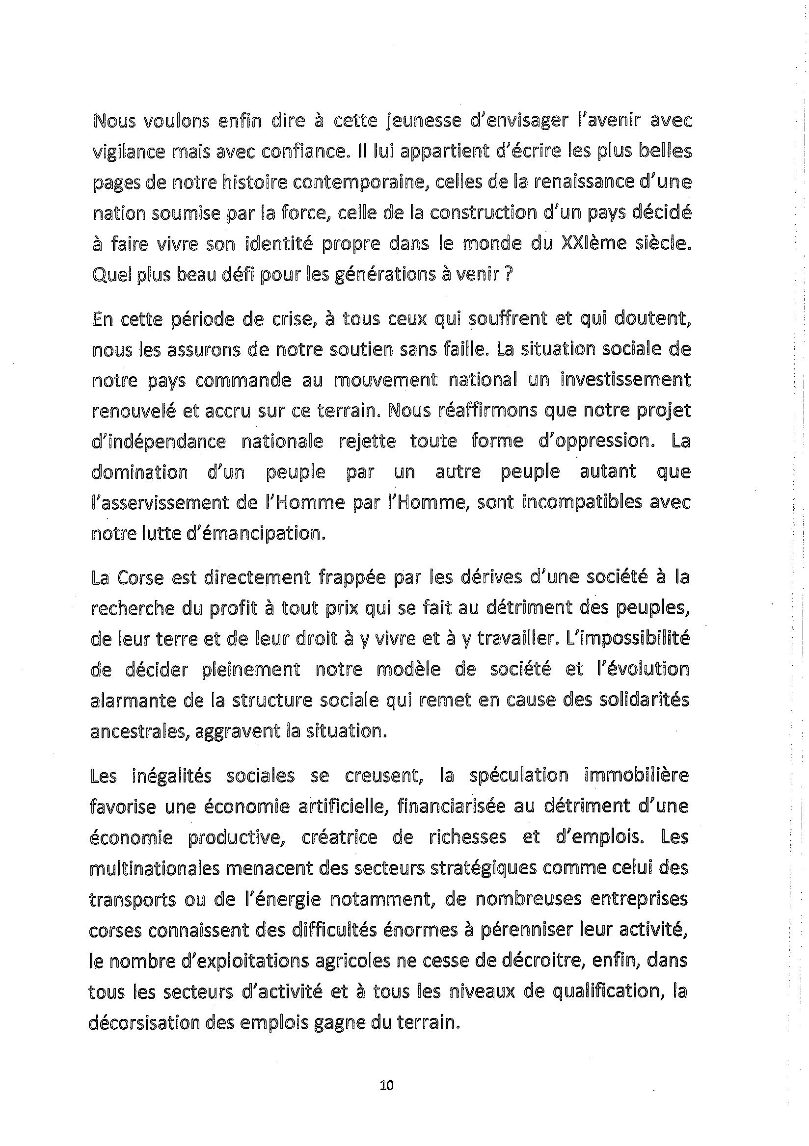 Le FLNC annonce qu'il dépose les armes