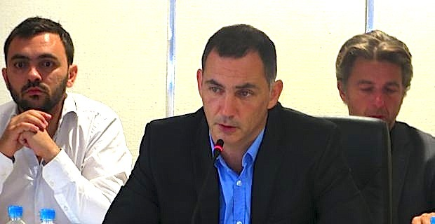 Gilles Simeoni, maire de Bastia.