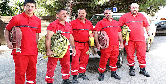 Lutte contre l'incendie : Exercice de cohésion pour la réserve communale de Corbara
