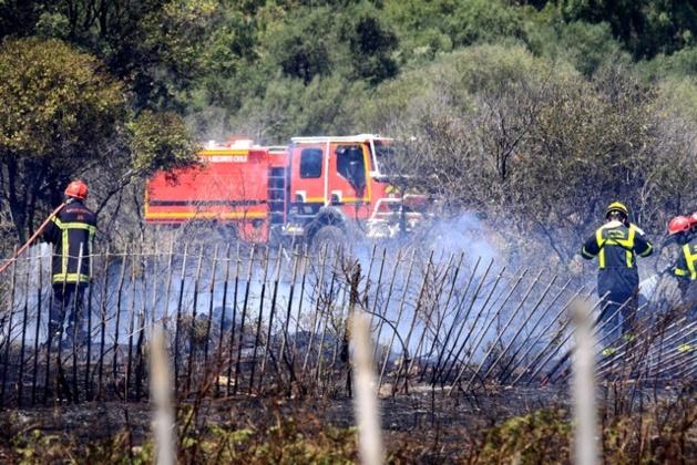 Un incendie aux portes de Calvi provoque un embouteillage monstre