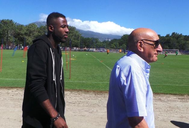 Junior Tallo avec Jo Bonavita