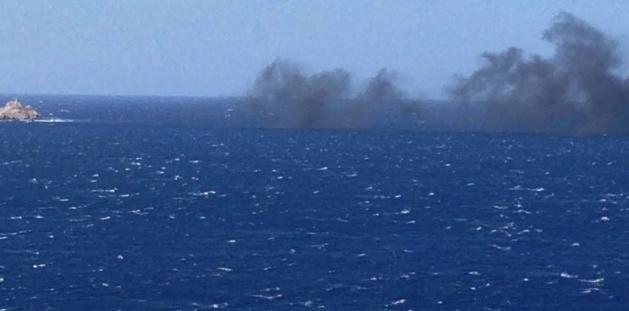 Pointe de la Revellata : L'explosion d'un bateau fait 5 blessés