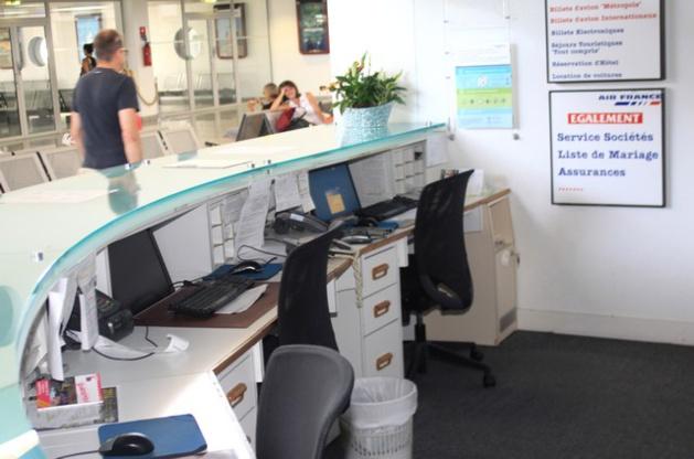 Le comptoir Air France de l'aéroport de Calvi fermé un 3 juillet !