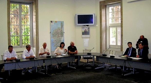 Une quinzaine de socioprofessionnels a ainsi été reçue vendredi à Ajaccio par le Préfet Christophe Mirmand. (Photo : Yannis-Christophe Garcia)