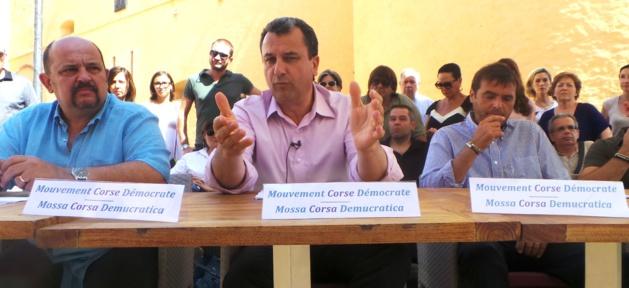 François Tatti lance le Mouvement Corse Démocrate