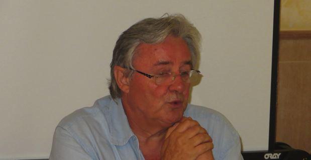 Jean-Bernard Gilormini, Président et co-fondateur des Nuits de la Guitare de Patrimoniu.