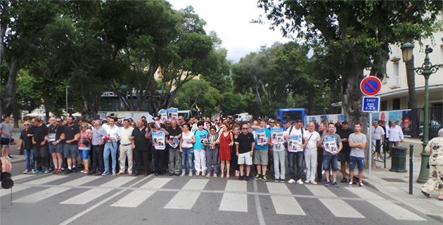 SNCM : Rassemblement et tensions à Bastia