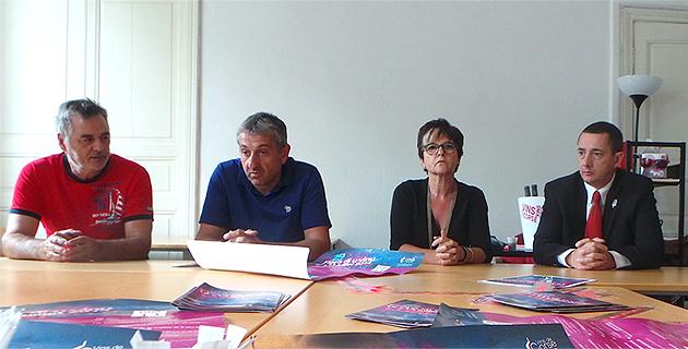 Jean Ciosi, Eric Poli, Lina Pieretti-Venturi, Chrstophe Giraud : Ambassadeurs de A Fiera di u vinu di Luri