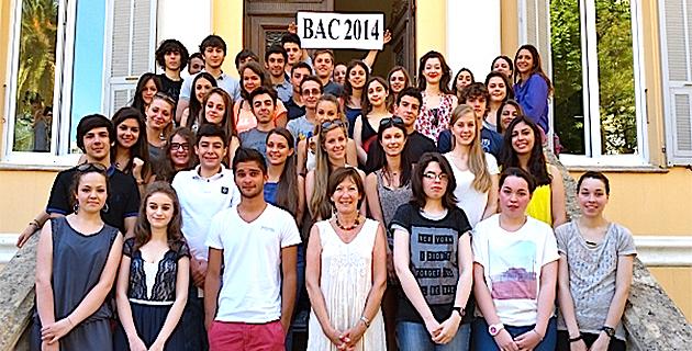 Bastia : Des bacheliers brillants au lycée Jeanne-d'Arc