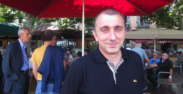 Jean-Christophe Angelini, co-leader de Femu a Corsica, conseiller territorial, conseiller municipal et conseiller général de Porto-Vecchio.