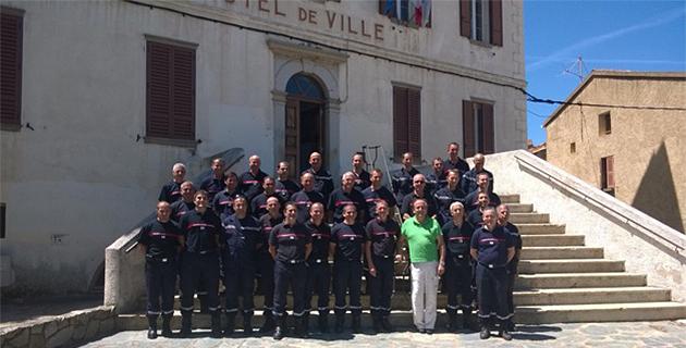 Séminaire des cadres pompiers du groupement de Balagne à Calenzana