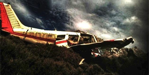 L'appareil qui s'est écrasé au-dessus de Urtaca