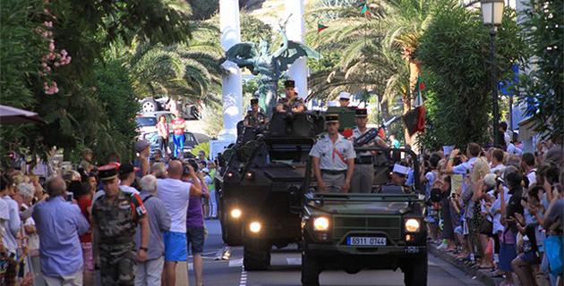Foule à Calvi pour les cérémonies du 14-Juillet