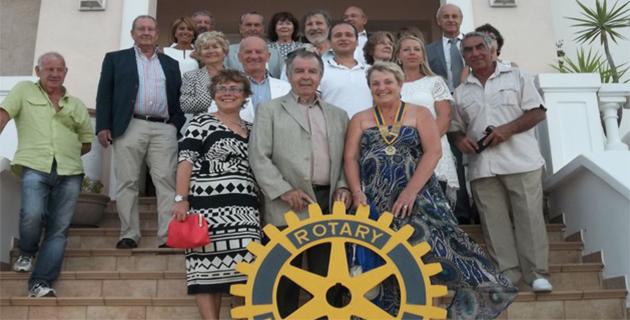 Danielle Lecomte succède à Pancrace Guglielmacci à la tête du Rotary Club Balagne
