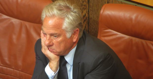 Camille de Rocca Serra, président du groupe Rassembler pour la Corse, député UMP et conseiller municipal de Porto-Vecchio.