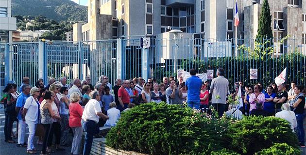 Bastia : Manifestation de soutien à la Palestine