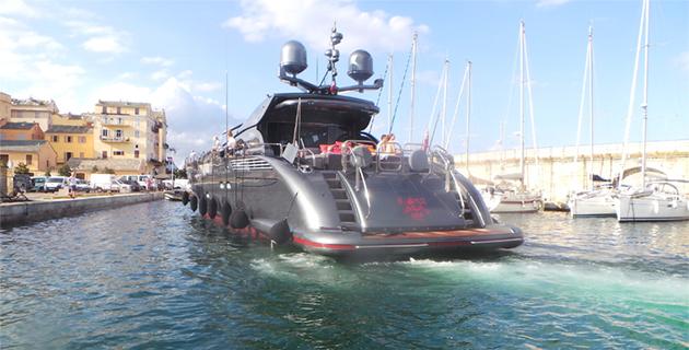 Vieux-Port de Bastia : Les beaux bateaux