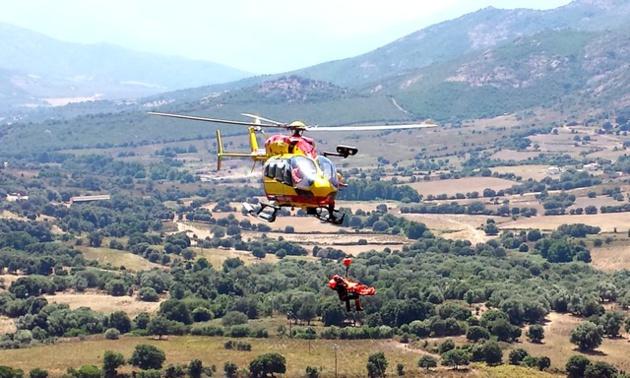 Un véhicule militaire bascule dans le ravin au col de Marsolinu: Deux blessés, dont l'un hélitreuillé et évacué vers CH Bastia