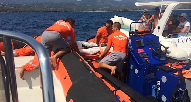 Porto-Pollo : Un plongeur percuté par un bateau évacué sur Ajaccio