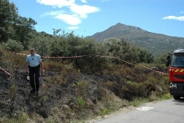 Les gendarmes ont découvert deux systèmes de mise à feu