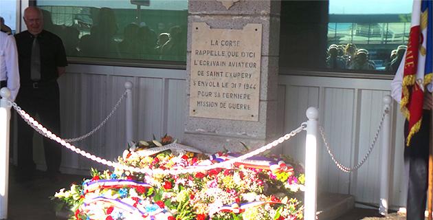 Il y a 70 ans Antoine de Saint-Exupéry s'envolait de Poretta pour sa dernière mission