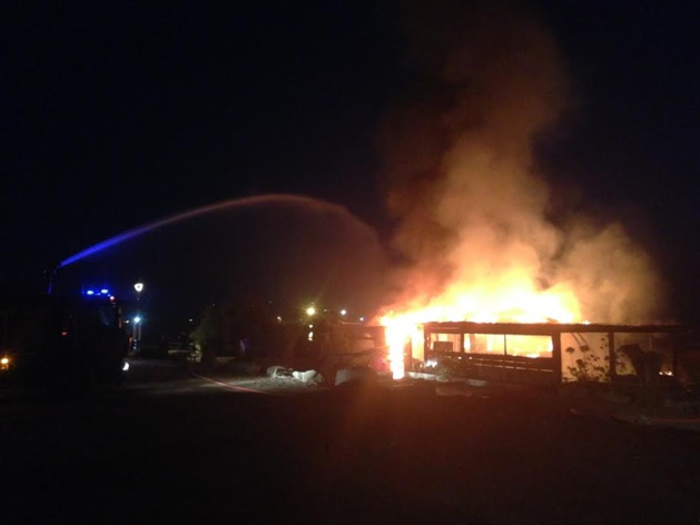 L'Ile-Rousse : Action contre un restaurant détruit par un incendie criminel