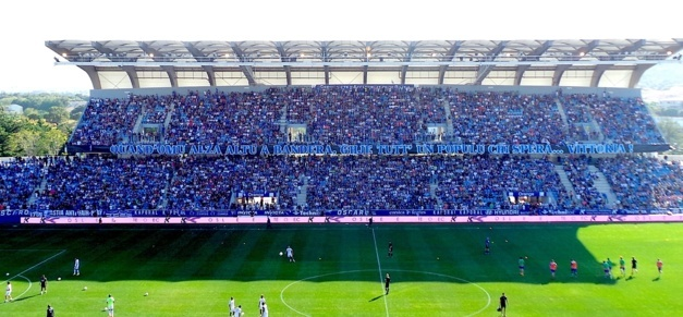 Sporting-OM : Les supporters marseillais isolés, interdits de Furiani !