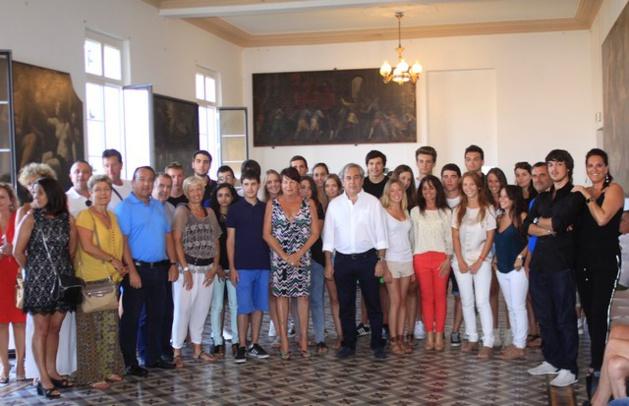 Les bacheliers de Calvi honorés par la municipalité