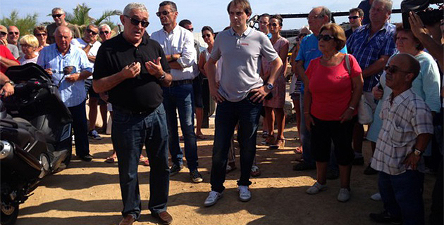 """L'Ile-Rousse : 500 personnes au rassemblement de soutien aux propriétaires et gérants de """"A Casella"""""""