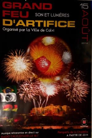Animations et festivités de Calvi : Le coup d'envoi