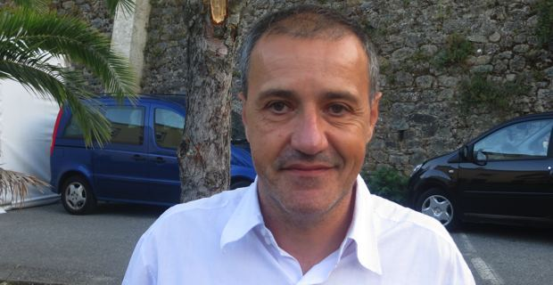 Jean-Guy Talamoni, président du groupe Corsica Libera à l'Assemblée de Corse (CTC).