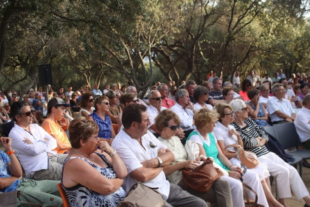 Rencontre-débat champêtre pour Xavier Bertrand à Lumio