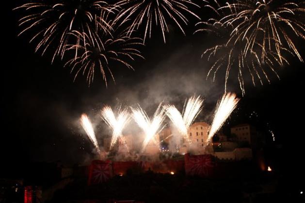 Magie de la pyrotechnie à Calvi