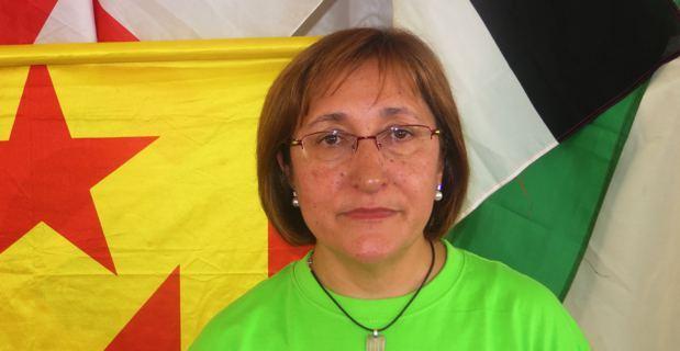 Conxita Bosch, responsable des relations internationales du parti Solidarita catalana per l'indipendencia (SI), invitée des 33ème Ghjurnate Internaziunale di Corti.