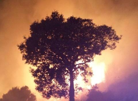 Violent incendie mercredi soir à Moncale