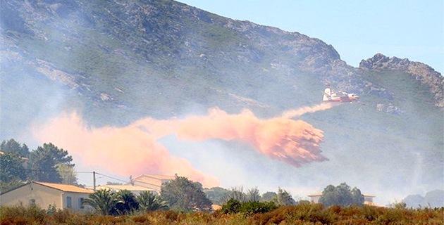 A Calenzana comme à Suare, les habitations ciblées par les incendiaires !
